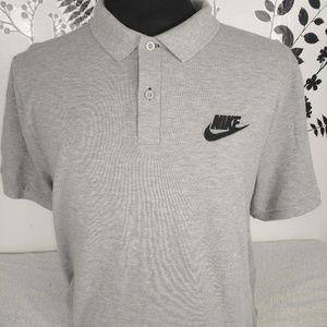 Nike men's polo shirt gray size XXL